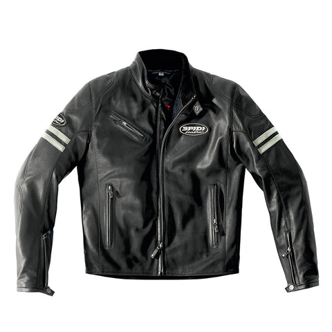 Spidi IT ACE Leather Jacket-ICE/Black-Special Order