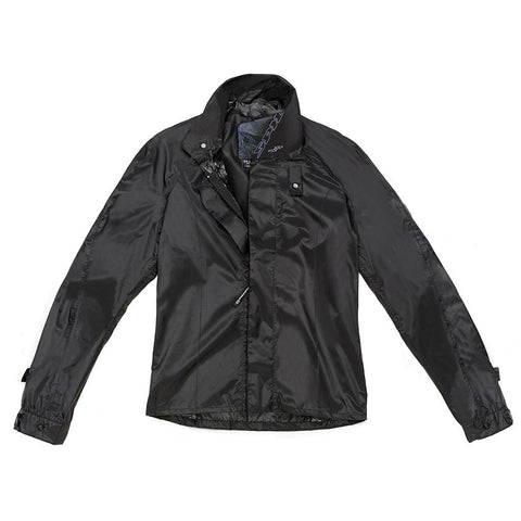 Spidi GB Rain Gear Rain Chest Jacket Ladies Black - Midwest Moto Shop