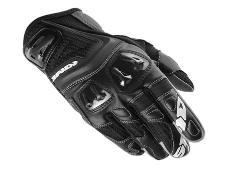 Spidi Jab RR Leather Gloves-Black