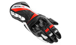 Spidi STS-R Lady Leather Gloves-Black/Red