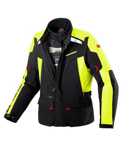Spidi H2OUT Super Hydro WP Jacket-Hi Viz - Midwest Moto Shop