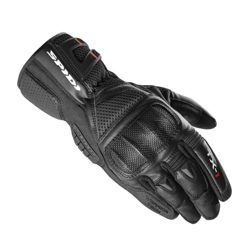 Spidi IT TX-1 CE Leather Gloves-Black-Special Order