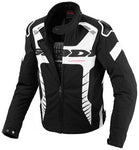 Spidi IT Tex Tech Warrior Tex Jacket Black/White-Special Order