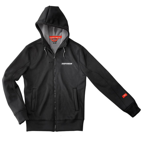 Spidi Stuff Tech Hoodie Evo Black