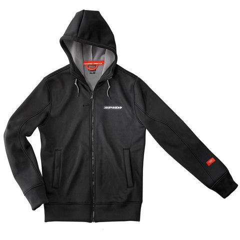 Spidi GB Stuff Tech Hoodie Evo Black - Midwest Moto Shop