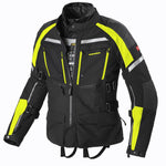 Spidi GB CE H2OUT Armakore Jacket Black Fluo Yellow - Midwest Moto Shop