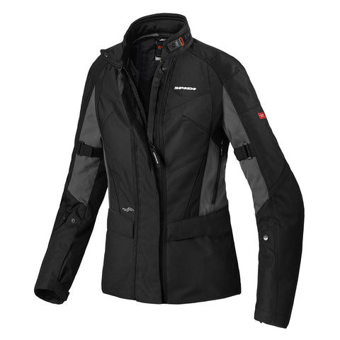 Spidi GB H2OUT Traveler 2 Lady jacket ICE Black - Midwest Moto Shop