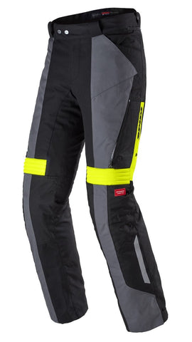 Spidi GB H2OUT Modular Pant Black Fluo Yellow - Midwest Moto Shop