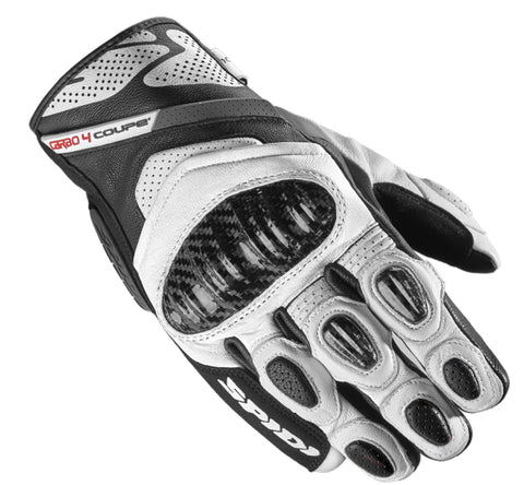 Spidi IT C4 Coupe CE Gloves Black White Special Order