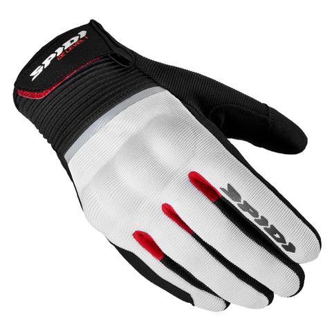 Spidi IT Flash CE Gloves Blk Red Special Order