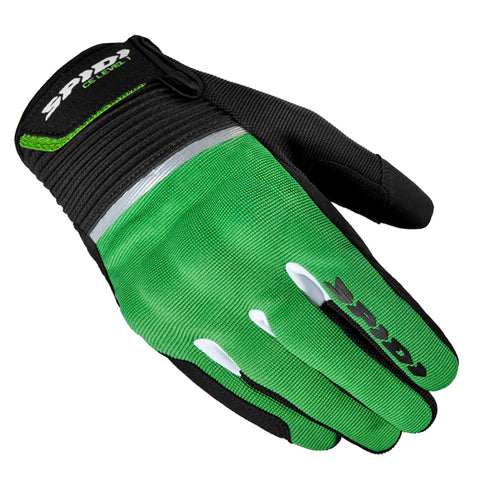 Spidi IT Flash CE Gloves Blk Grn  Special Order