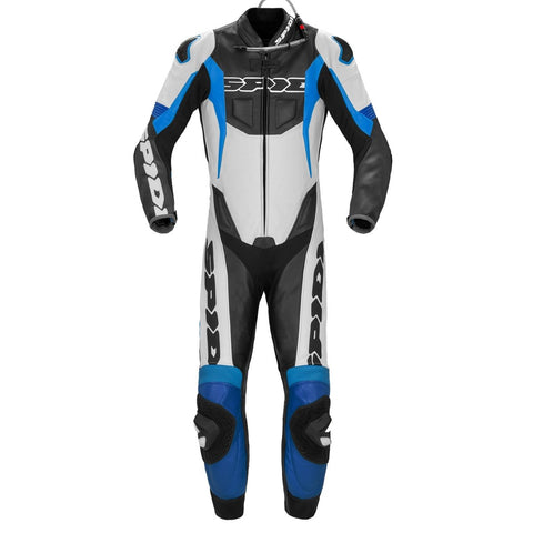 Spidi GB Sport Warrior Perforated CE Pro Suit Blk Blue - Midwest Moto Shop