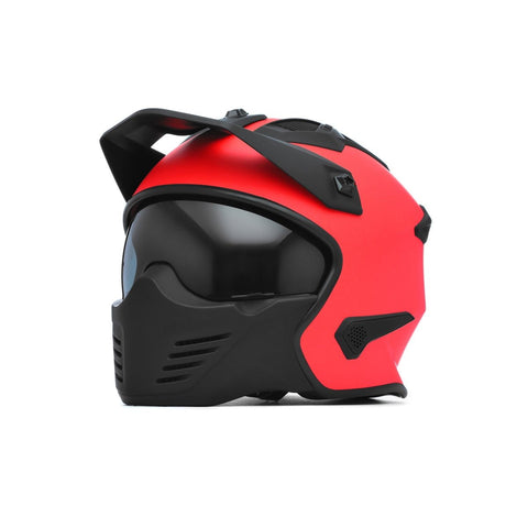 Spada Helmet Storm Matt Fire Red - Midwest Moto Shop