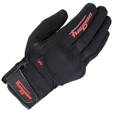 FURYGAN JET ALL SEASON D3O GLOVE BLACK AND RED