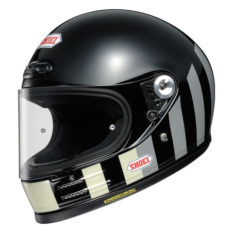 Shoei Glamster Resurrection TC5 Black/Grey - Midwest Moto Shop