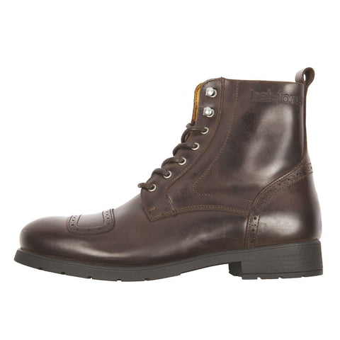 Helstons Travel Boots Brown - Midwest Moto Shop