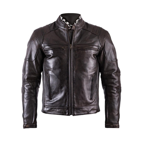 Helstons Trust Dirty Brown Leather Jacket - Midwest Moto Shop