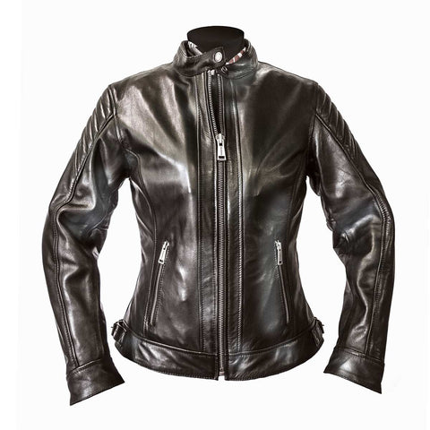 Helstons Ladies Star Leather Jacket - Midwest Moto Shop