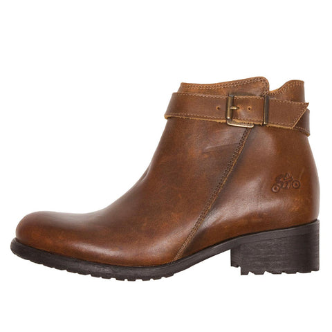 Helstons Ladies Lisa Brown Boots - Midwest Moto Shop