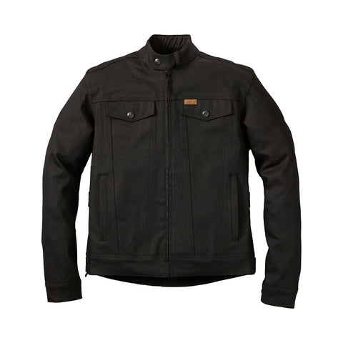 Indian Motorcycle Mens Atlanta Jacket Black - Midwest Moto Shop