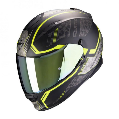Exo 510 Occulta Black/Yellow - Midwest Moto Shop