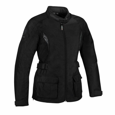 Lady Virginia Jacket Black/Grey - Midwest Moto Shop