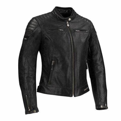 Segura Lady Stripe Black/Glitter Jacket - Midwest Moto Shop