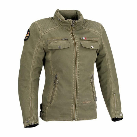 Segura Lady Frida Kaki Jacket - Midwest Moto Shop