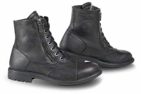 Falco Aviator Black Boots - Midwest Moto Shop