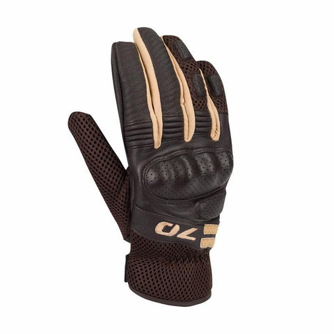Melbourne Brown Gloves - Midwest Moto Shop