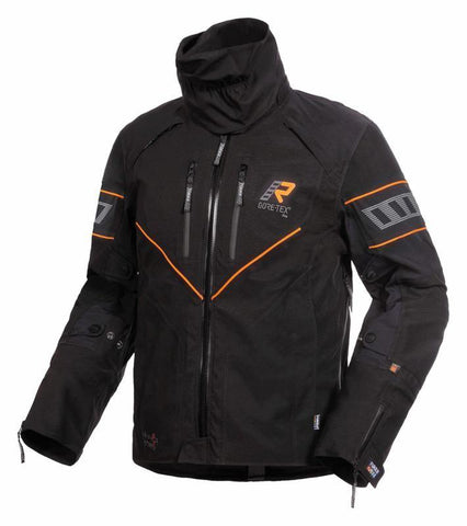 Nivala Jacket Black/Orange - Midwest Moto Shop