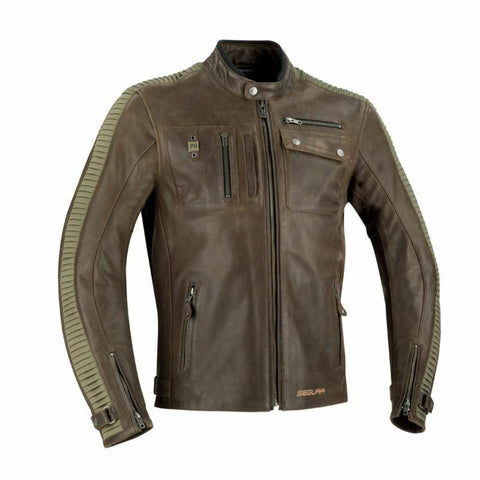 Segura Jayzer Brown/Kaki Jacket - Midwest Moto Shop