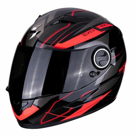 Exo 490 Nova Black/Red - Midwest Moto Shop