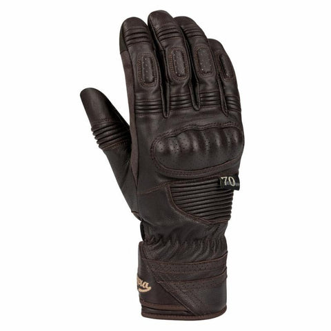 Segura Ramirez Brown Gloves - Midwest Moto Shop