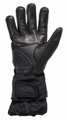 Fiennes GTX Gloves Black - Midwest Moto Shop