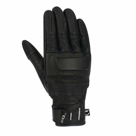 Horson Black/Red Gloves - Midwest Moto Shop