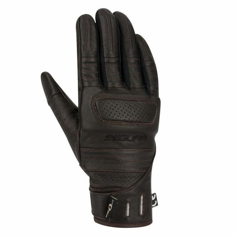 Lady Horson Black/Red Gloves - Midwest Moto Shop
