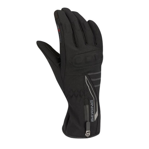 Bering Lady Claudia Black Gloves - Midwest Moto Shop