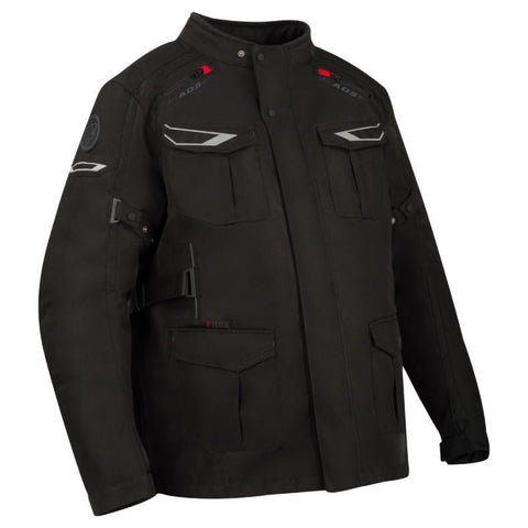 Bering Carlos King Black Jacket - Midwest Moto Shop