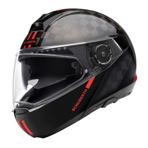 C4 Pro Carbon Fusion Red - Midwest Moto Shop