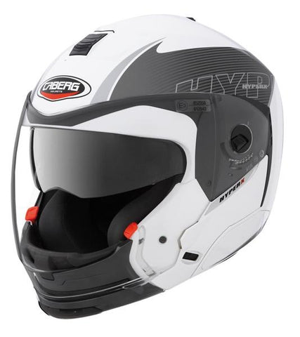 Caberg Hyper X Mod White/Anthracite - Midwest Moto Shop