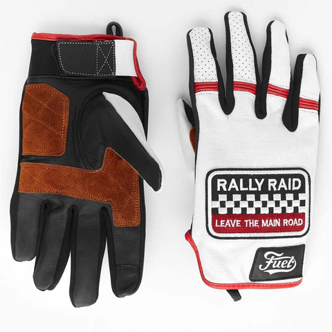 "Fuel ""Rally Raid"" Patch Gloves - Midwest Moto Shop"