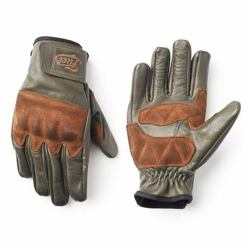 Fuel Rodeo Gloves Olive - Midwest Moto Shop