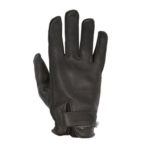 Helstons Hiro Black Summer Glove - Midwest Moto Shop