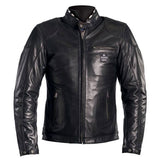 Helstons Road Black Leather Jacket - Midwest Moto Shop