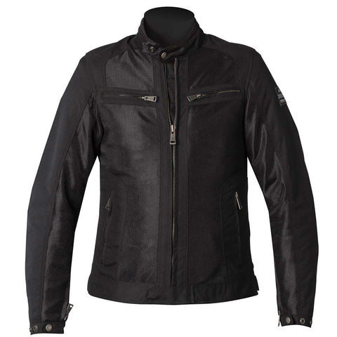 Helstons Spring Mesh Womens Jacket - Black - Midwest Moto Shop