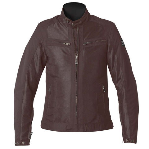 Helstons Spring Mesh Womens Jacket - Brown - Midwest Moto Shop