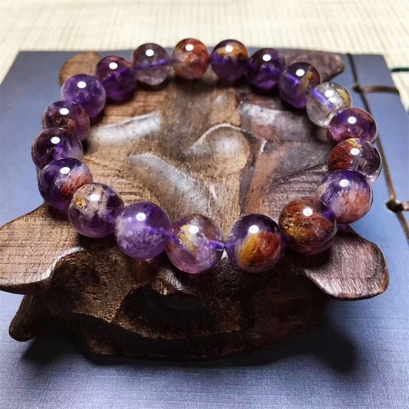 Goddess PurpBrown Bracelet