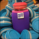 Eco Insulator™ - Quart - Reversible (Black / Purple with Hot Pink Binding & Stitching)
