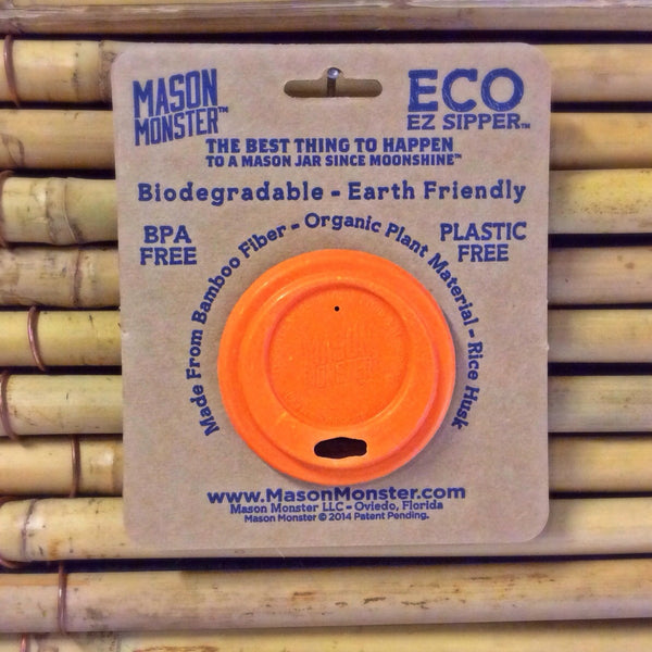 Eco EZ Sipper™ - Orange Regular Mouth